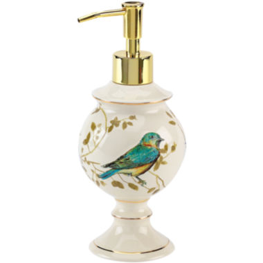 jcpenney.com | Avanti Gilded Birds Bath Soap Dispenser