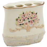 Avanti Rosefan Toothbrush Holder