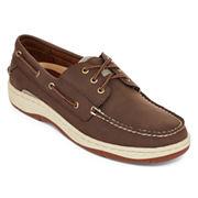 Mens Basin Oxford Boat Shoes