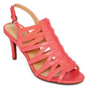 Liz Claiborne® Tapping High Heel Sandals