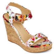 CL by Laundry Illuminate Wedge Sandals