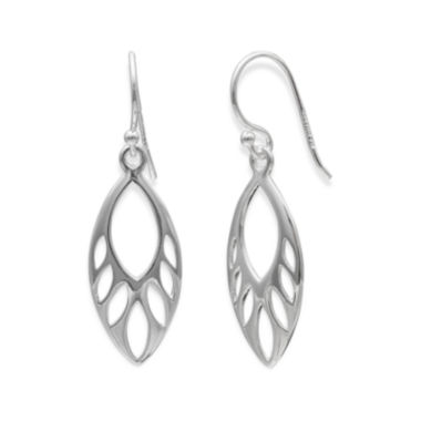 jcpenney.com | Sterling Silver Leaf Drop Earrings