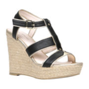 Call It Spring™ Newboro Cutout Wedge Platform Sandals