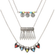 Decree® Metal Brights Layered Necklace