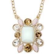 Monet® Multicolor Gold-Tone Frontal Necklace