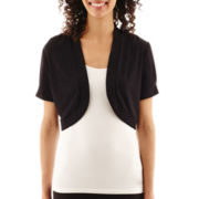R&K Originals® Short-Sleeve Bolero Shrug