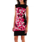R & K Originals® Sleeveless Side-Tie Knit Dress