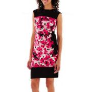 R&K Originals® Sleeveless Side-Tie Knit Dress