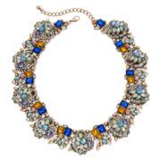 Natasha Multicolor Scalloped Collar Necklace