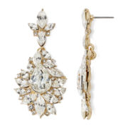 Natasha Crystal Silver-Tone Earrings