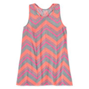 Total Girl® Striped Racerback Tunic - Girls 7-16