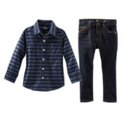 OshKosh B'gosh® Chambray Shirt or Jeans - Toddler Boys 2t-5t