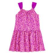 Okie Dokie® Sleeveless Back-Bow Dress – Girls 2t-5t