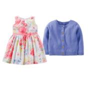 Carter's® Easter Dress or Cardigan - Baby Girls 6m-24m