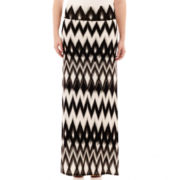 by&by Print Knit Maxi Skirt - Plus