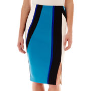 Bisou Bisou® Colorblock Pencil Skirt