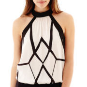 Bisou Bisou® Halter-Neck Bubble Top