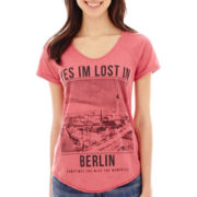 MNG by Mango® Short-Sleeve Berlin Graphic Tee