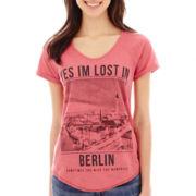MNG by Mango® Short-Sleeve Berlin Graphic Tee