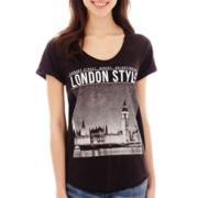 MNG by Mango® Short-Sleeve London Graphic Tee