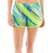 Xersion™ Colorblock Print Woven Running Shorts - Tall