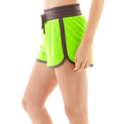 Xersion™ Double-Layer Tricot Mesh Shorts