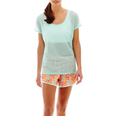 jcpenney.com | Xersion™ Perforated Tee, Sports Bra or Woven Running Shorts