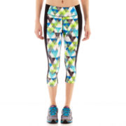 Xersion™ Print-Inset Capris