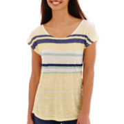 Levi's® Short-Sleeve Variegated Stripe Tee