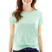 Stylus™ Short-Sleeve Relaxed Fit Crewneck Slub Tee