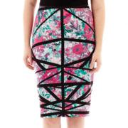 Bisou Bisou® Slit-Back Pencil Skirt - Plus