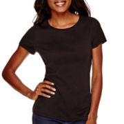 St. John's Bay® Short-Sleeve Crewneck T-Shirt