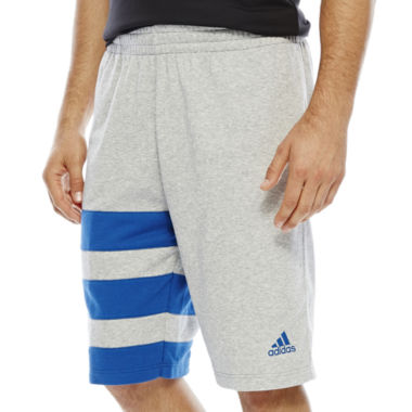 jcpenney.com | adidas® Fat Stripes Basketball Shorts