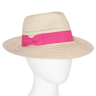 jcpenney.com | August Hat Co Panama Simple Bow Hat