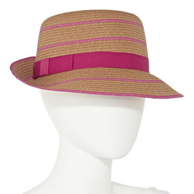 jcpenney.com | August Co.Inc. Cloche Stripe Brim Hat