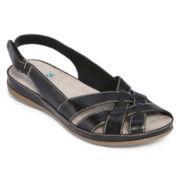Yuu™ Jenelle Peep-Toe Strap Sandals