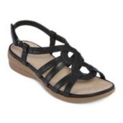 Yuu™ Moria Slide Strap Sandals - Wide Width