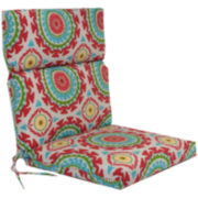 Outdoor Oasis™ Suzani Swirl Outdoor Chair Cushion