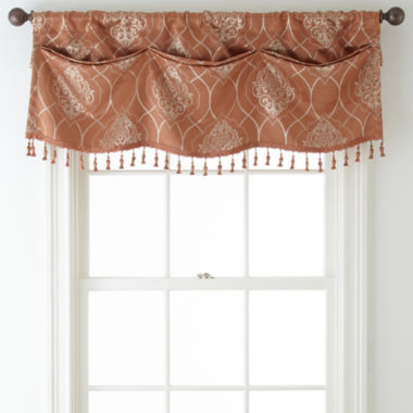 jcpenney.com | Home Expressions™ Sorrento Tuck Blackout Rod-Pocket Valance