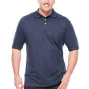 The Foundry Supply Co.™ Short Sleeve Pocket Polo - Big & Tall
