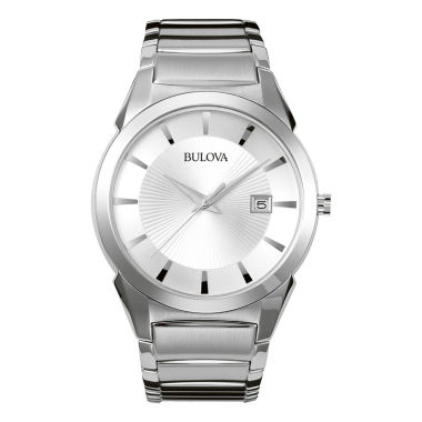 jcpenney.com | Bulova® Classic Men's Silver Dress Watch 96B015