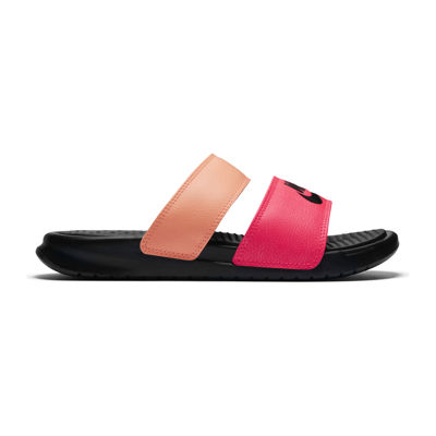 bebf03af7 Nike Benassi Duo Ultra Slide Womens Slide Sandals JCPenney