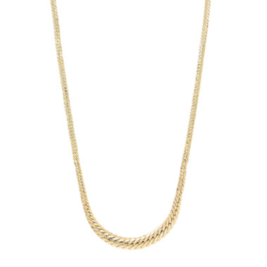 jcpenney.com | Womens 18 Inch 14K Gold Link Necklace