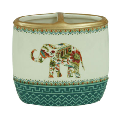 Bacova Guild Boho Elephant Toothbrush Holder