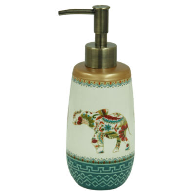 Bacova Guild Boho Elephant Soap Dispenser
