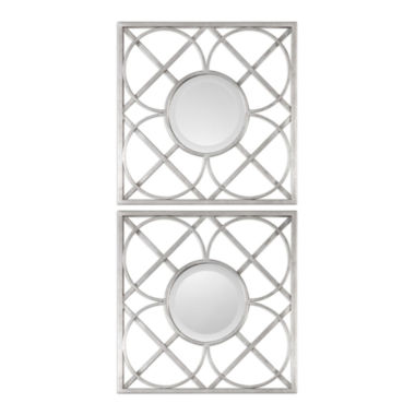 jcpenney.com | Yasmina Square Wall Mirrors (Set Of 2)