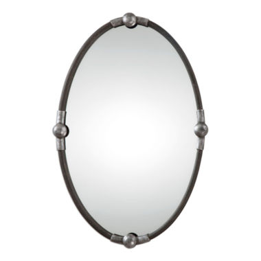 jcpenney.com | Carrick Framed Oval Wall Mirror