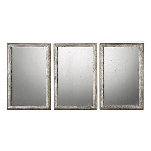 Alcona Framed  Wall Mirrors (Set Of 3)