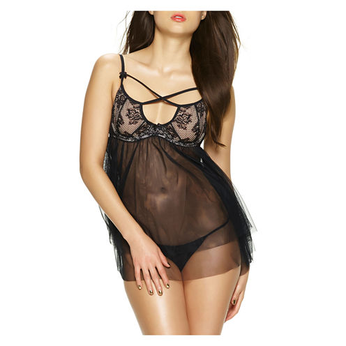 Jezebel Teresa Babydoll with G-String