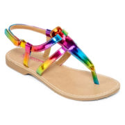 Arizona Rayna Rainbow Girls Sandals - Little Kids/Big Kids